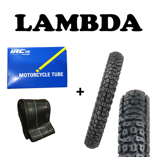 vee rubber trail tyre and irc tube ct110