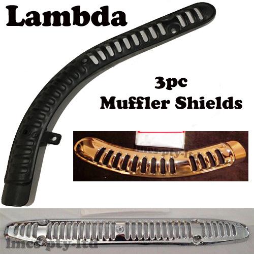 3pc muffler shield ct110