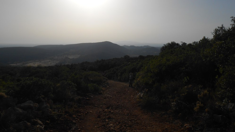 CT/AL-005 Monte das Sarnada ahead!