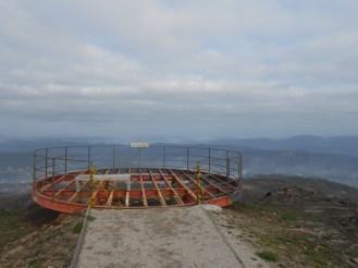 "View point ""Detrelho da Malhada"". The floor was burned by summer fires!"
