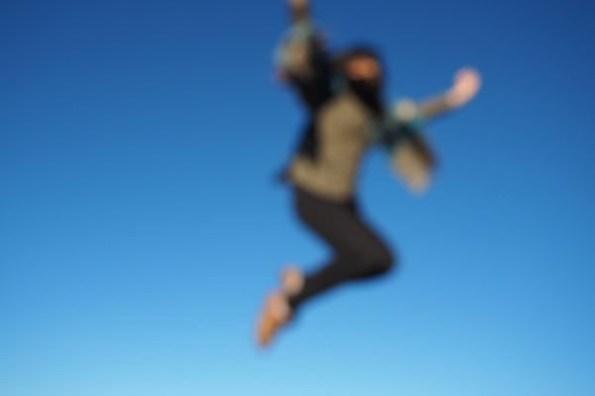 南投縣仁愛鄉|合歡山觀日出.飛翔在藍色漸層的天空