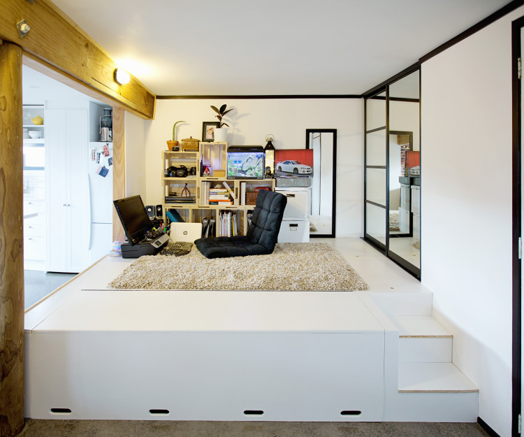 There Are Plenty Of Space-saving Ideas In This Small