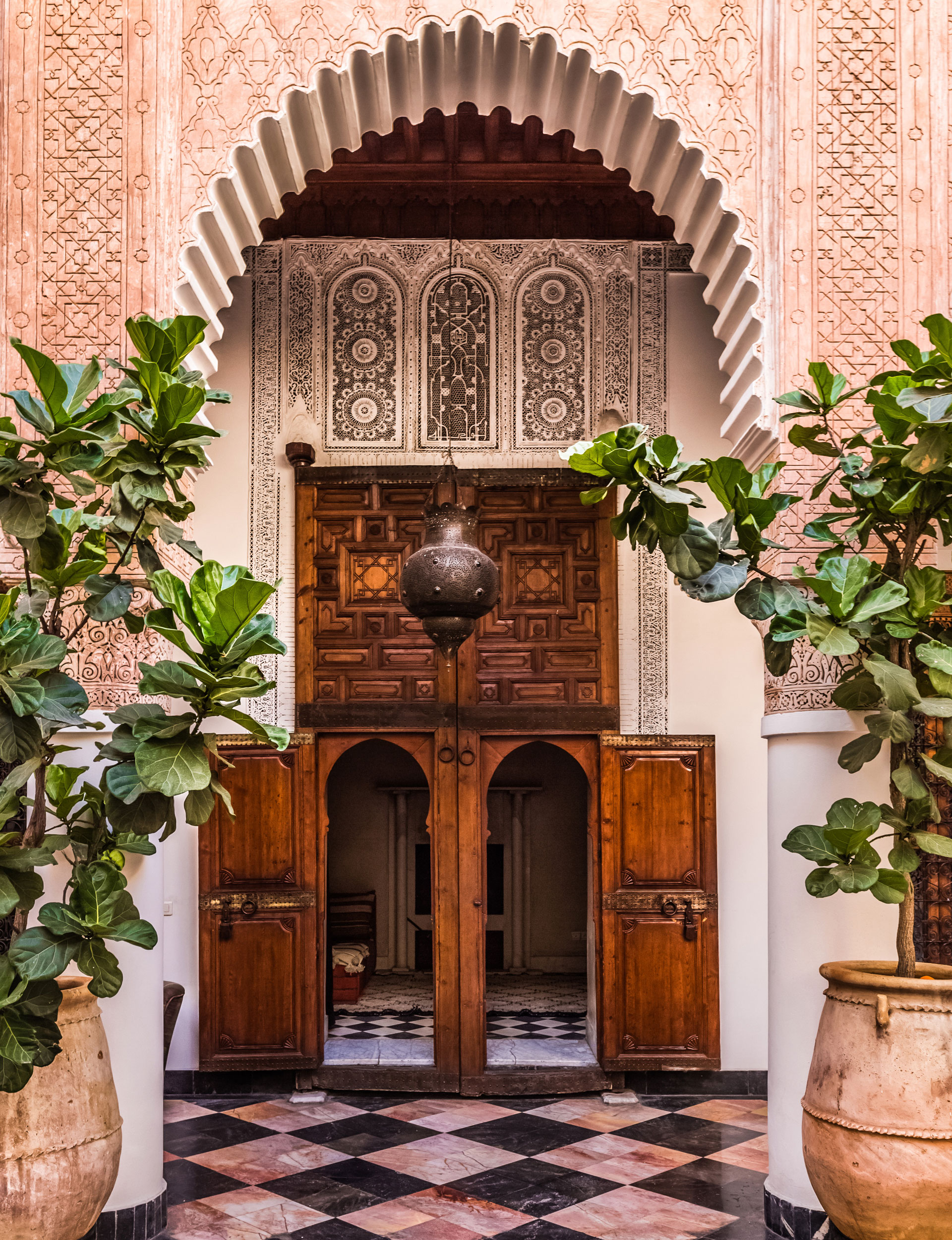 How we can learn from Moroccan style garden living on Moroccan Backyard Design  id=19696