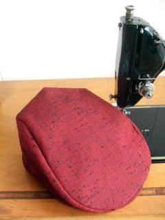 着物リメイクの作り方…紬リメイク「ハンチング帽子」「グラニーバッグ」編