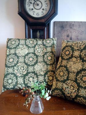 1枚の着物から40センチ角の座布団は何枚製作可能なのか?