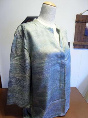 着物リメイクブログ@着物リメイクでチュニックを作る…