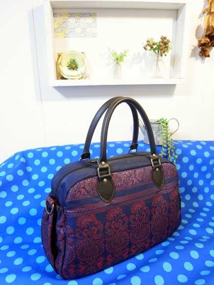 着物リメイクブログ@着物リメイク・帯リメイクで大きなバッグを作る