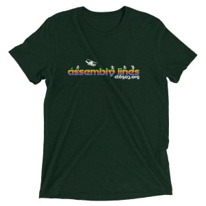 Assembly Lines Unisex Triblend T-Shirt