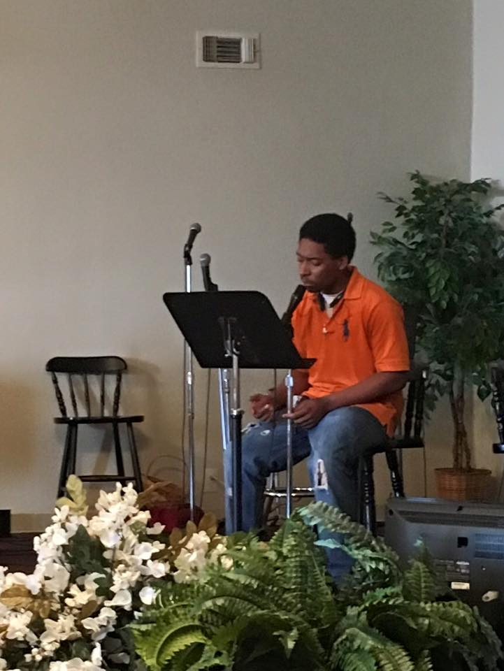 Crosstimbers Academy Student Singing During Pack Friday