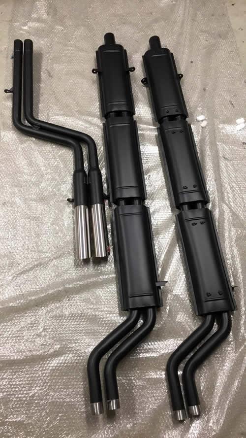 temperature ceramic coated exhausts