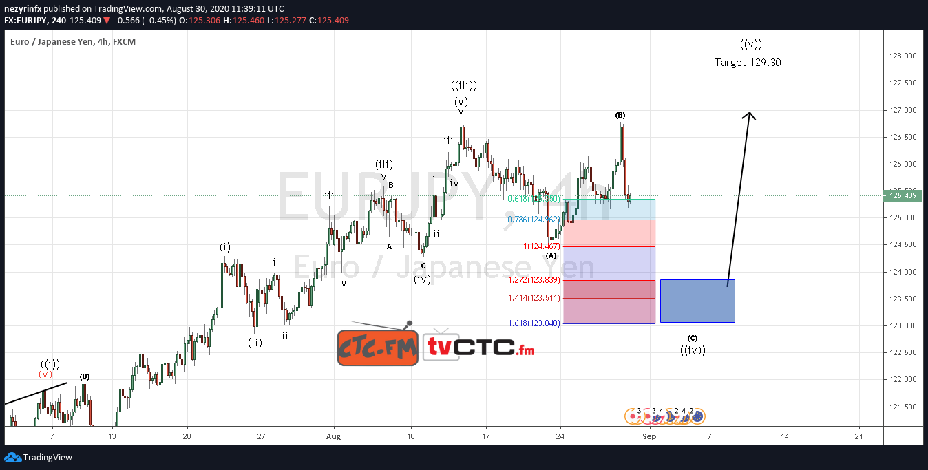 EUR/JPY Wave Count Update