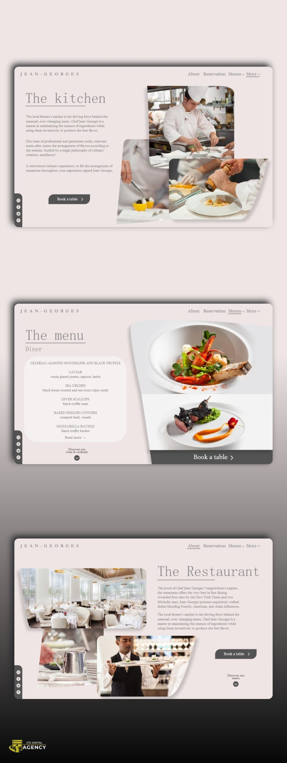 Restaurant Jean-Georges by CTC Digital Agency