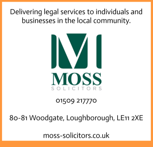 Advert for Moss Solicitors
