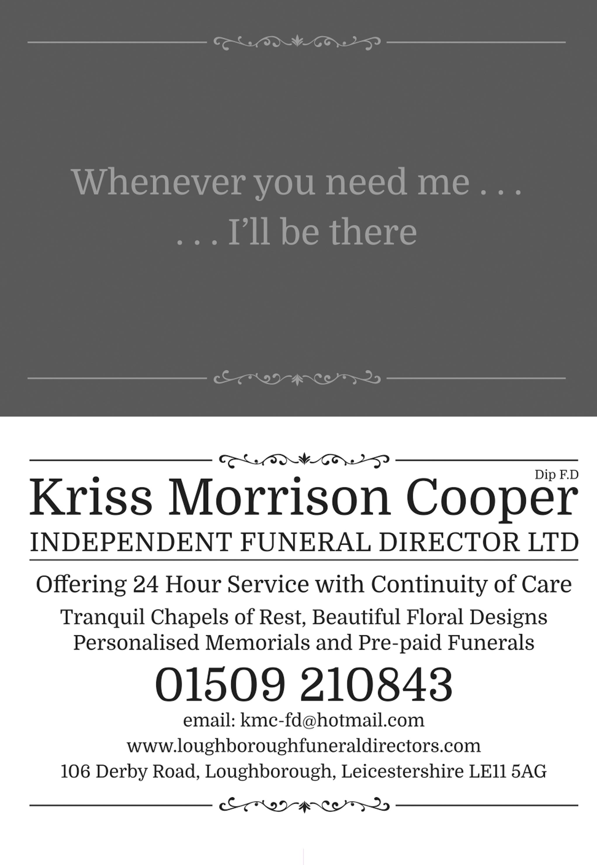 Business details for Kriss Morrison Cooper funeral directors