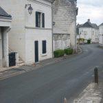 Le bourg de Chênehutte