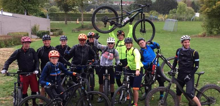 2018 oktober MTB weekend Zuid Limburg