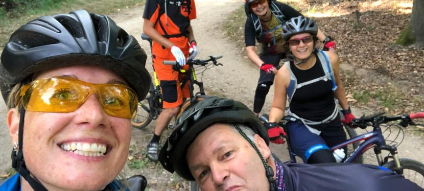 2020 MTB kampeerweekend in Berg en Dal