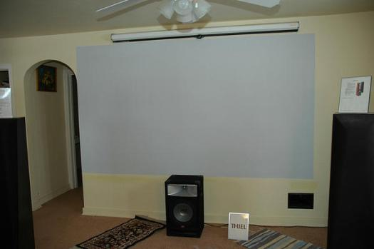Home Theater Screen Paint Lowes