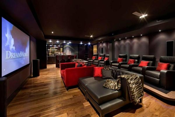 Home Theater Designs For Theatre Decoration Ideas