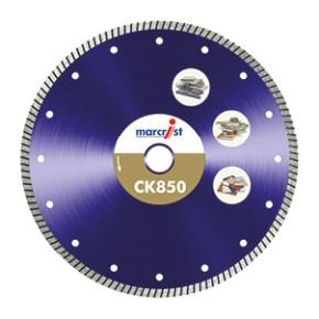 marcrist ck850 fastest tile cutting blade no flange 180x22 25 4mm
