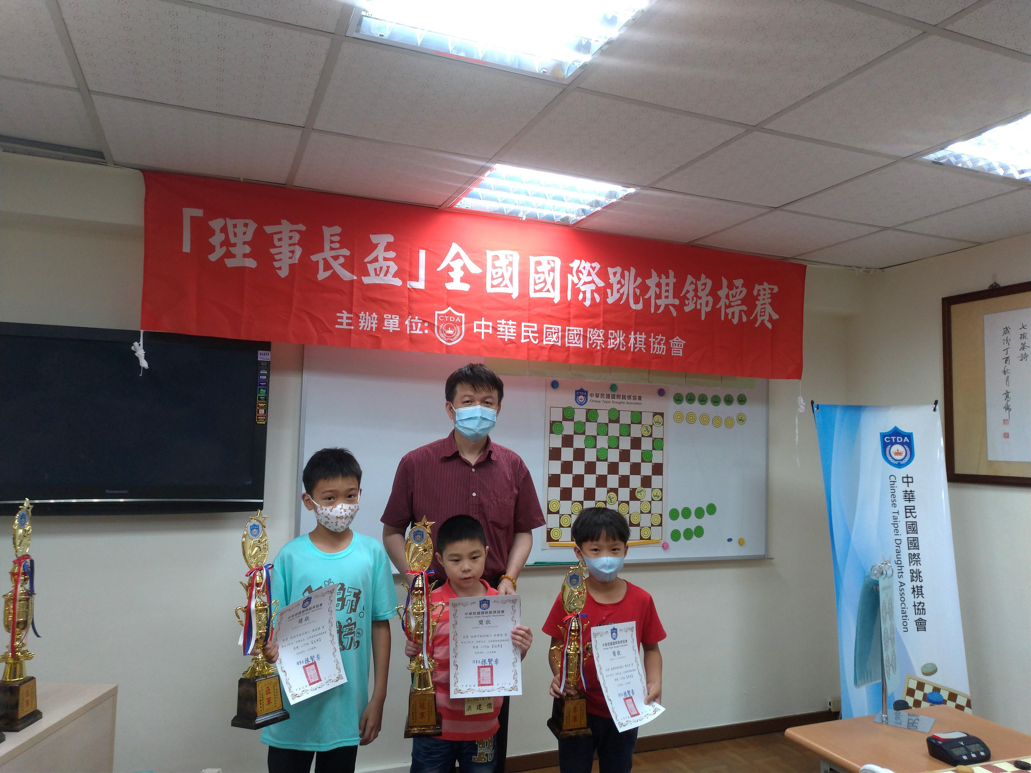 2019-01-03 – 中華民國國際跳棋協會