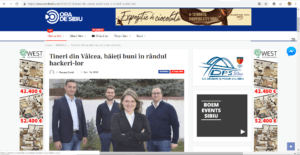 Cyber Threat Defense at Ora de Sibiu newspaper