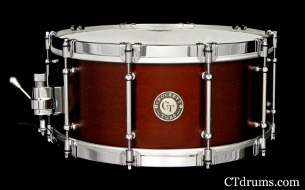 "6x14"" Burnt Sienna Satin Stain w/ 4.5mm Hoops"