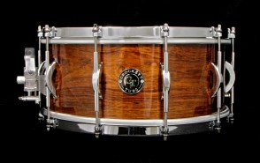 "6.5x14"" Solid Shell Rosewood w/ Arch Lugs & Single Flanged Hoops"