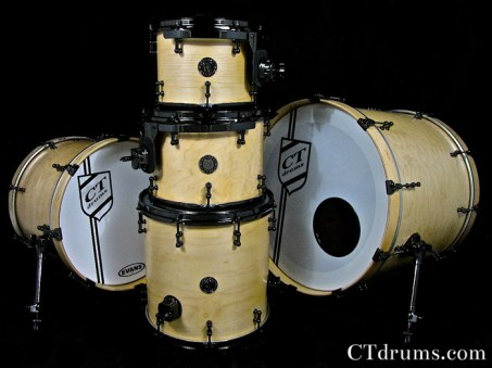 5pc Natural Satin Specialty w/ Black Nickel
