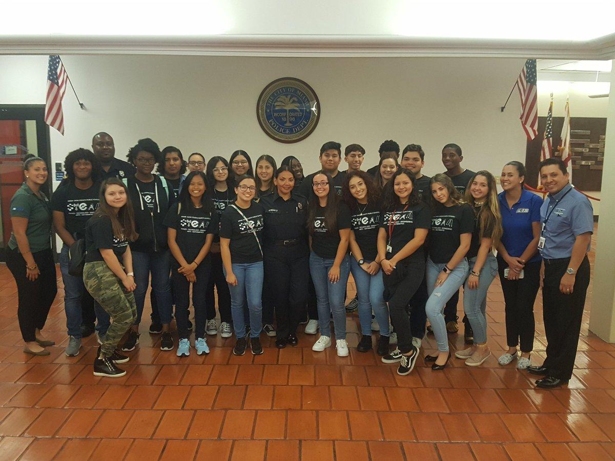 photo of district interns