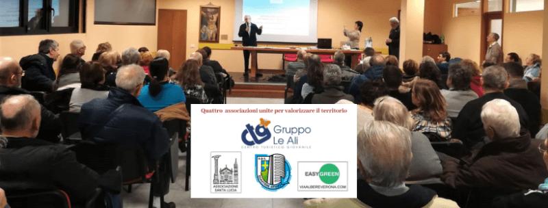immagine dell'incontro 18 gennaio 2019- CTGLeAli,Associazione Santa Lucia, Quartiere Attivo, Easy Green Verona