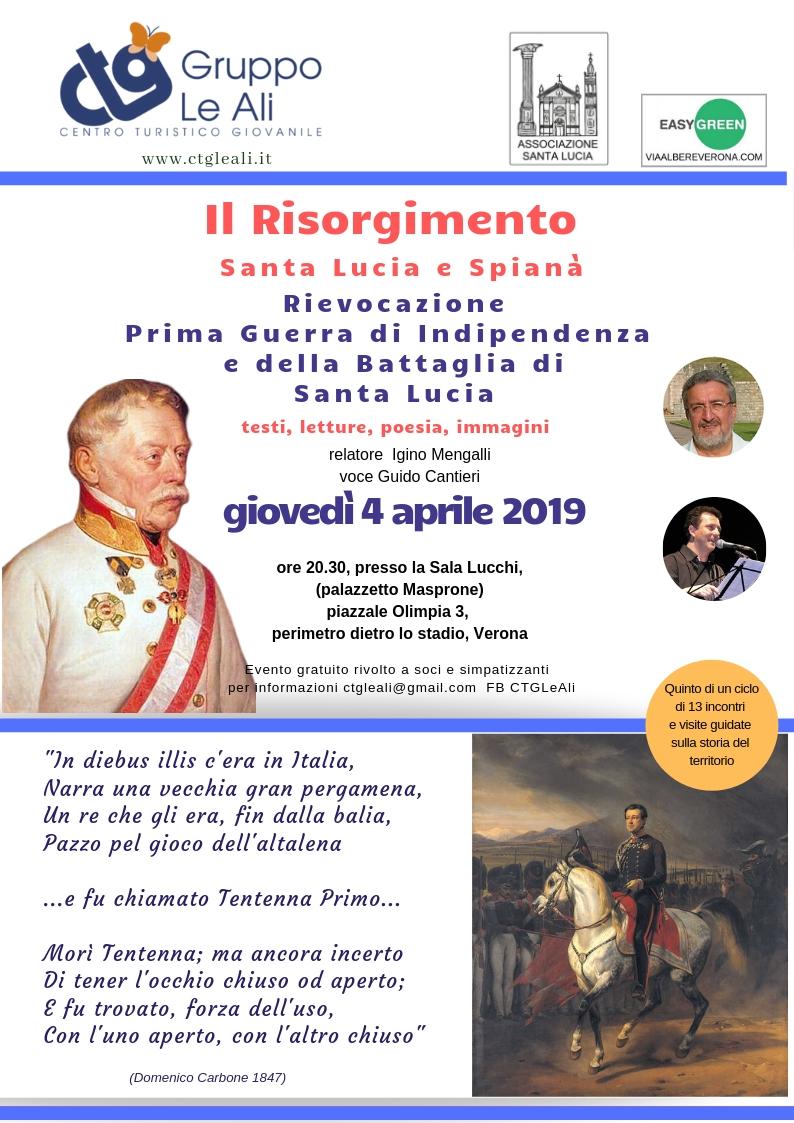Il Risorgimento - battaglia Santa Lucia Verona