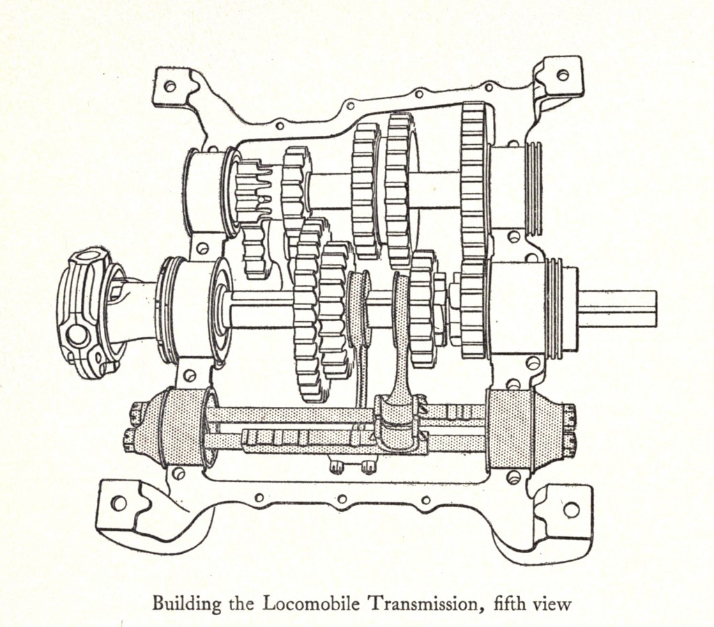 Transmission Illustrations Locomobile 30 Circa