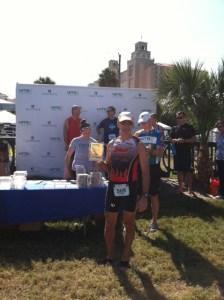 Bill Lombardi, Naples Olympic Triathlon Age Group Winner