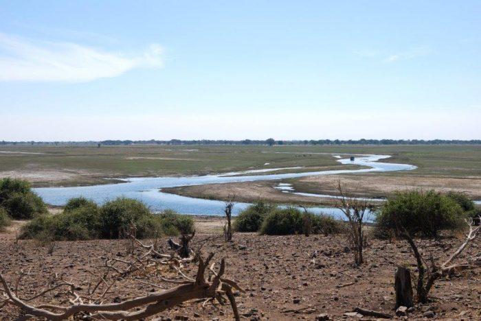 uitzicht over de Chobe Rivier