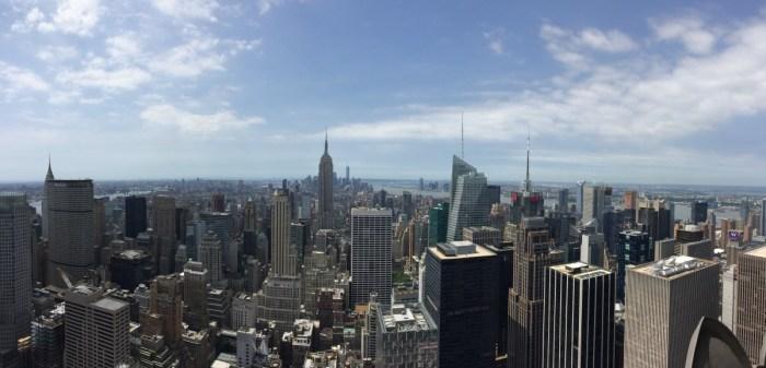 uitzicht vanaf Rockefeller
