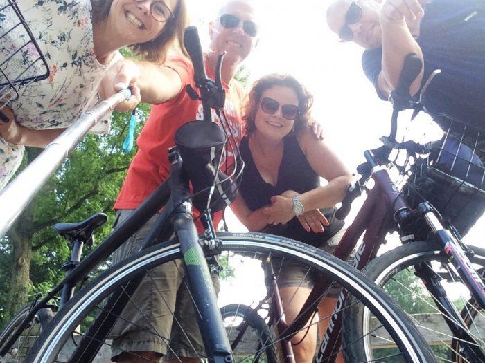 onze fietsen in central park
