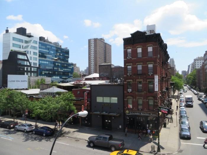 uitzicht vanaf High Line Park