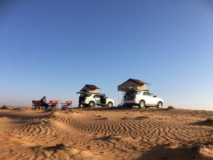 wildkamperen in Wahiba Sands