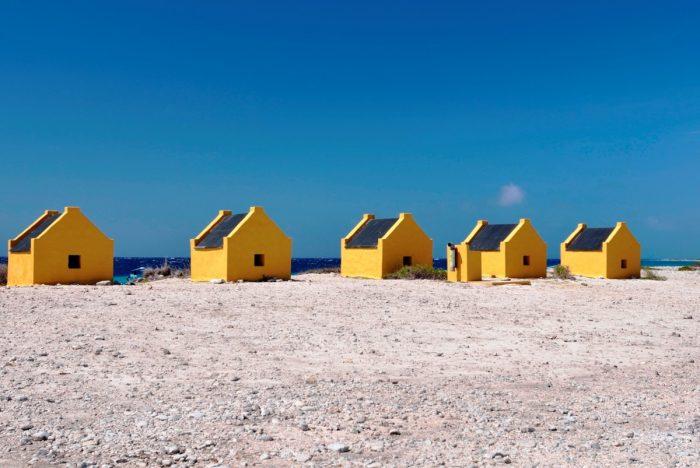 slavenhuisjes Bonaire