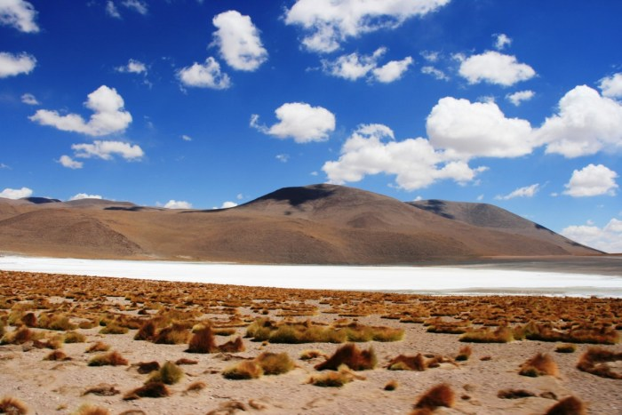 landschap van Salar de Uyuni