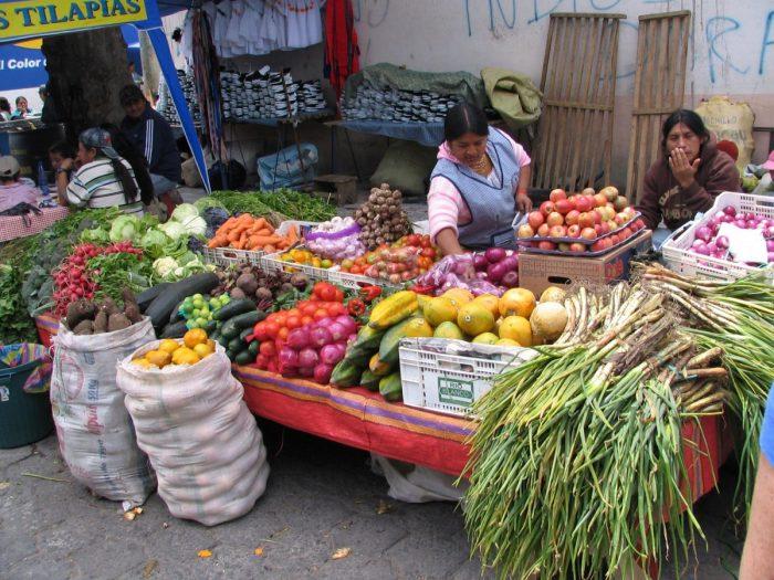 Versmarkt Ecuador
