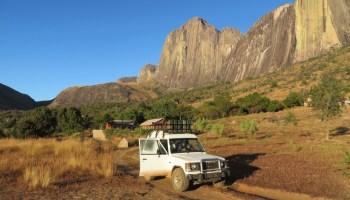 De Pajero in Madagaskar