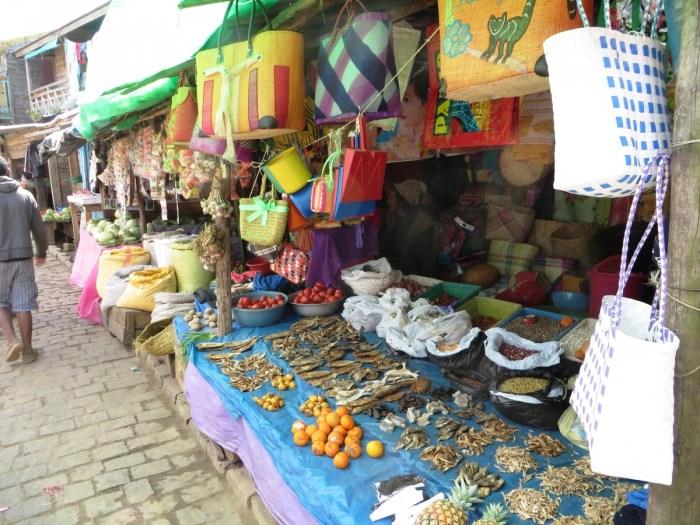 markten onderweg in Madagaskar