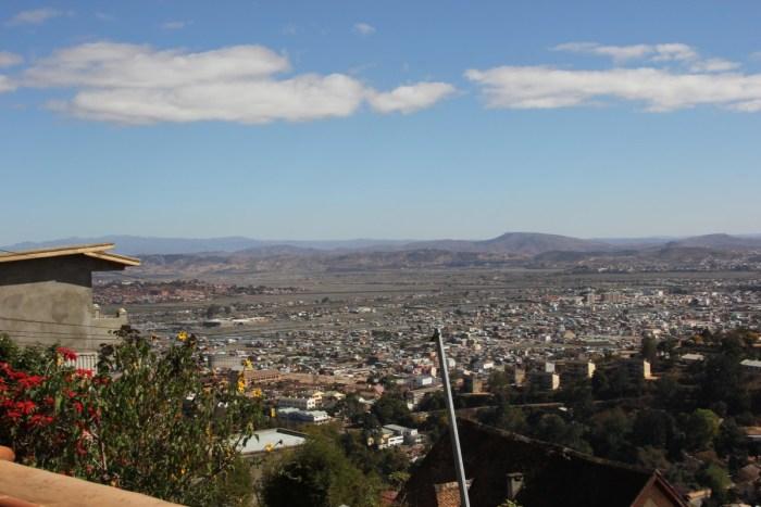 uitzicht over Antananarivo