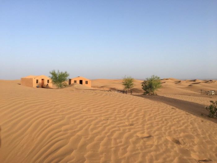 La Dune Blanche in de Sahara
