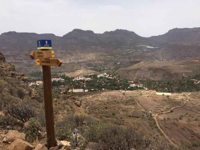 Uitzicht op Santa Lucia