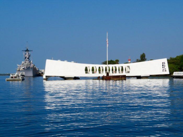 Monument van Pearl harbor