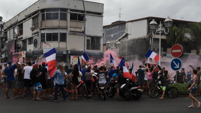 Feest in Papeete