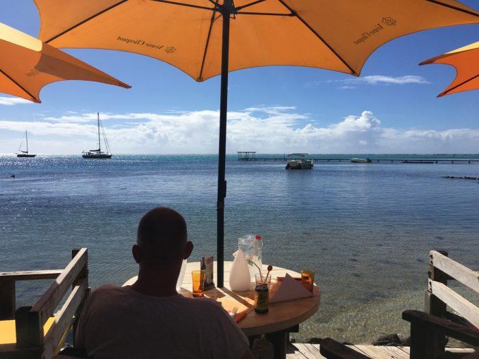 Terras van Moorea Beach café